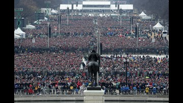 Let the Trump-Obama inauguration crowd comparison begin