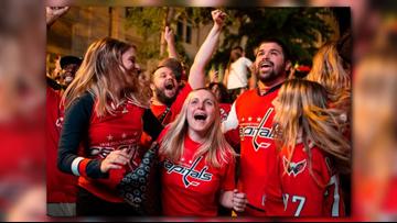 Caps fans across DMV celebrate historic Stanley Cup win