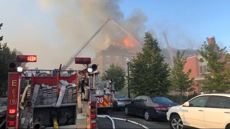 Senior found alive inside building 5 days after apartment fire