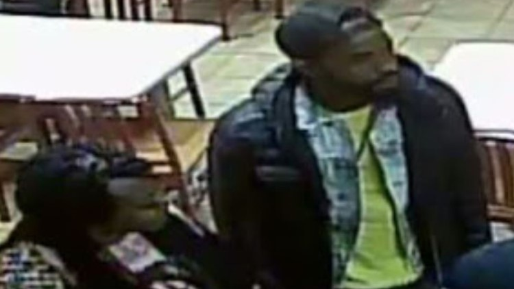 Person of interest and stabbing suspect at Popeyes