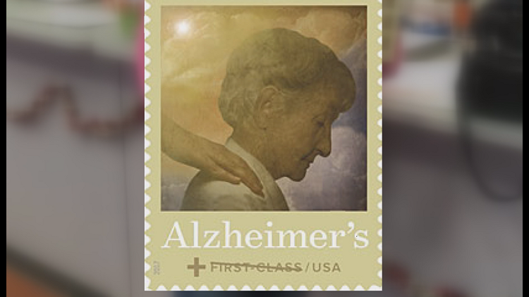 USPS has sold more than 7.7 million of these stamps, raising more than $1 Million for Alzheimer's research