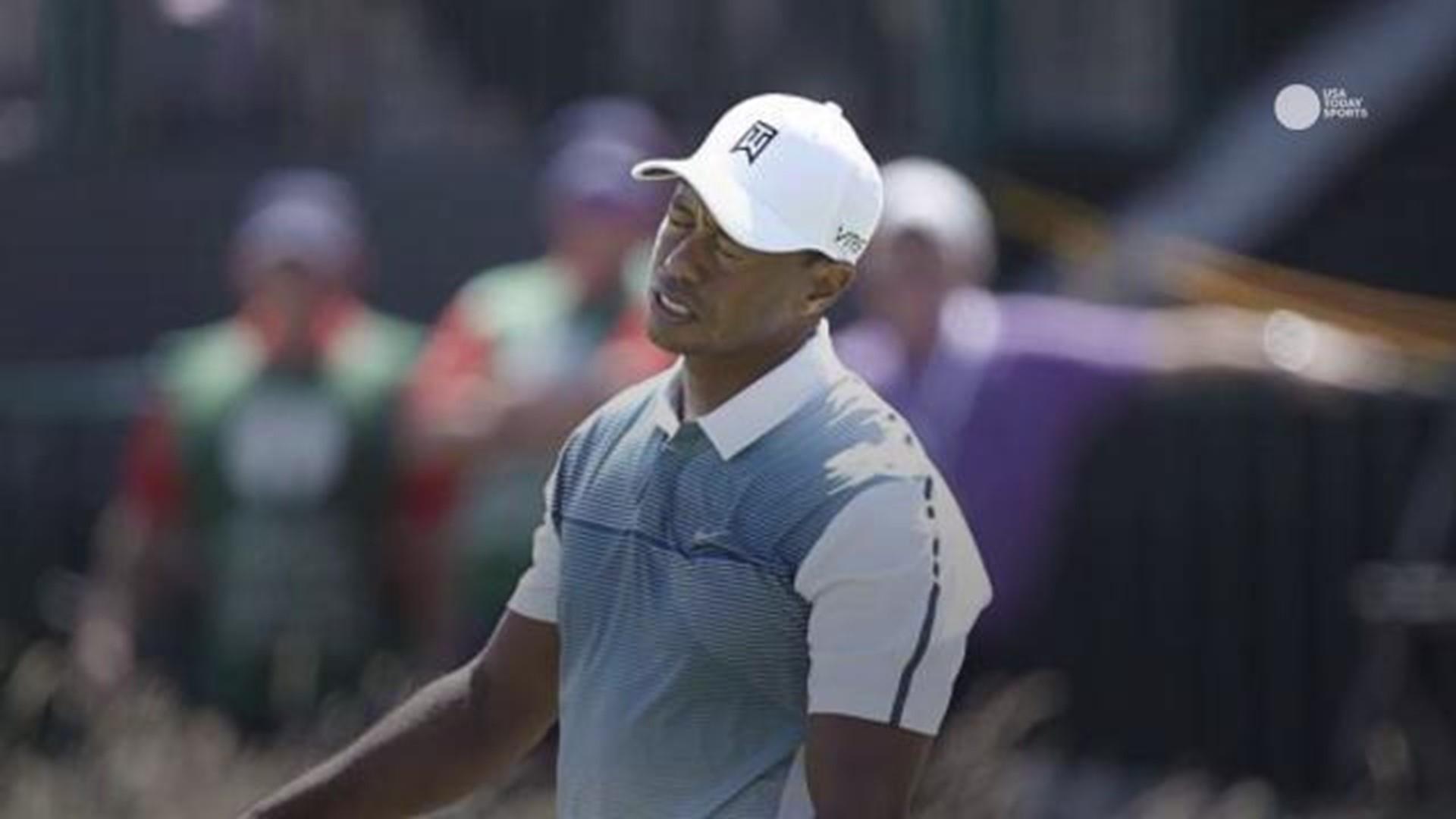 Dash cam footage of Tiger Woods' DUI arrest released ...