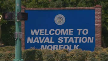 Sailor accidentally shoots himself at Naval Station Norfolk