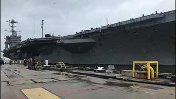 Truman Carrier Strike Group returns home for break