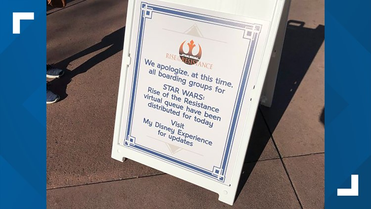 Goodbye lines: Disney World introduces virtual queueing at its newest attraction