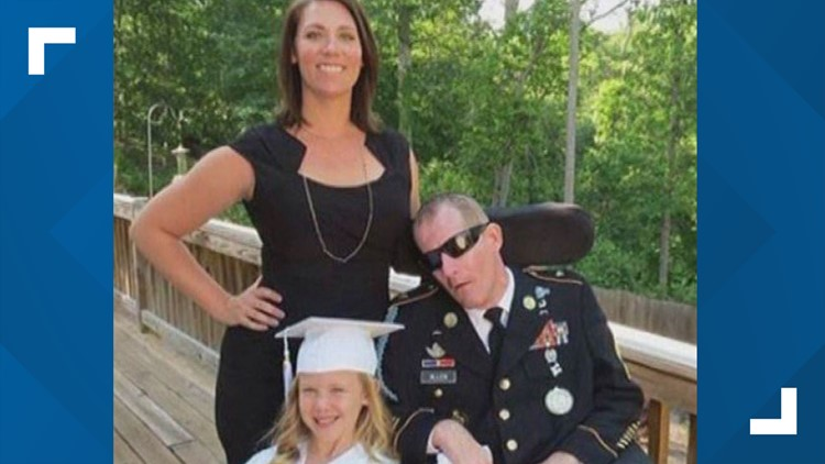 Soldier Mark Allen dies 10 years after being shot during search for deserter