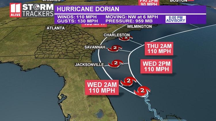 Dorian 8 pm advisort