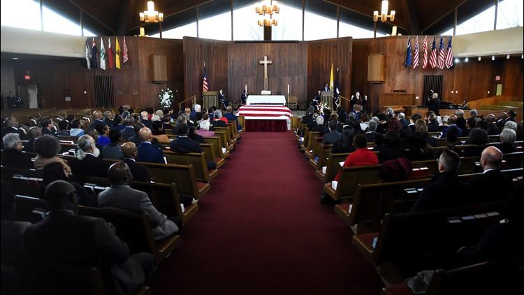 Maj. Gen. Marcelite Harris funeral