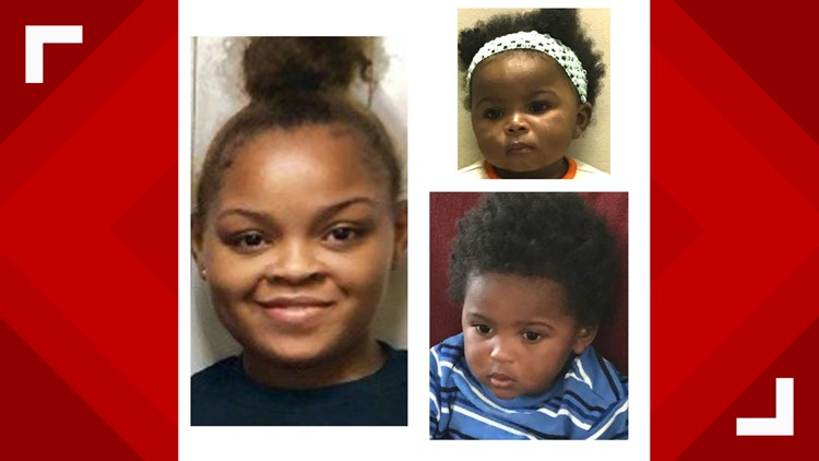 Nationwide search for mom and two children missing from Georgia