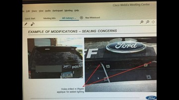 Ford dispatches investigators across country to fix police Explorer SUV fume issues