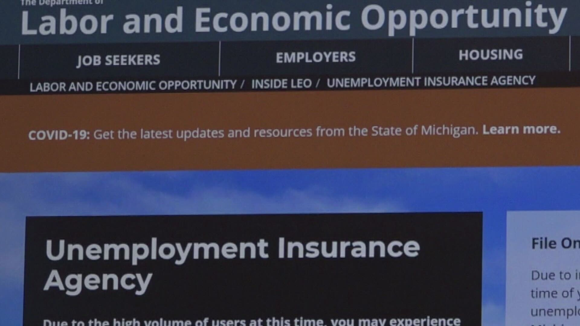 Mi Sees Decrease In Number Of People Filing For Unemployment Wkyc Com