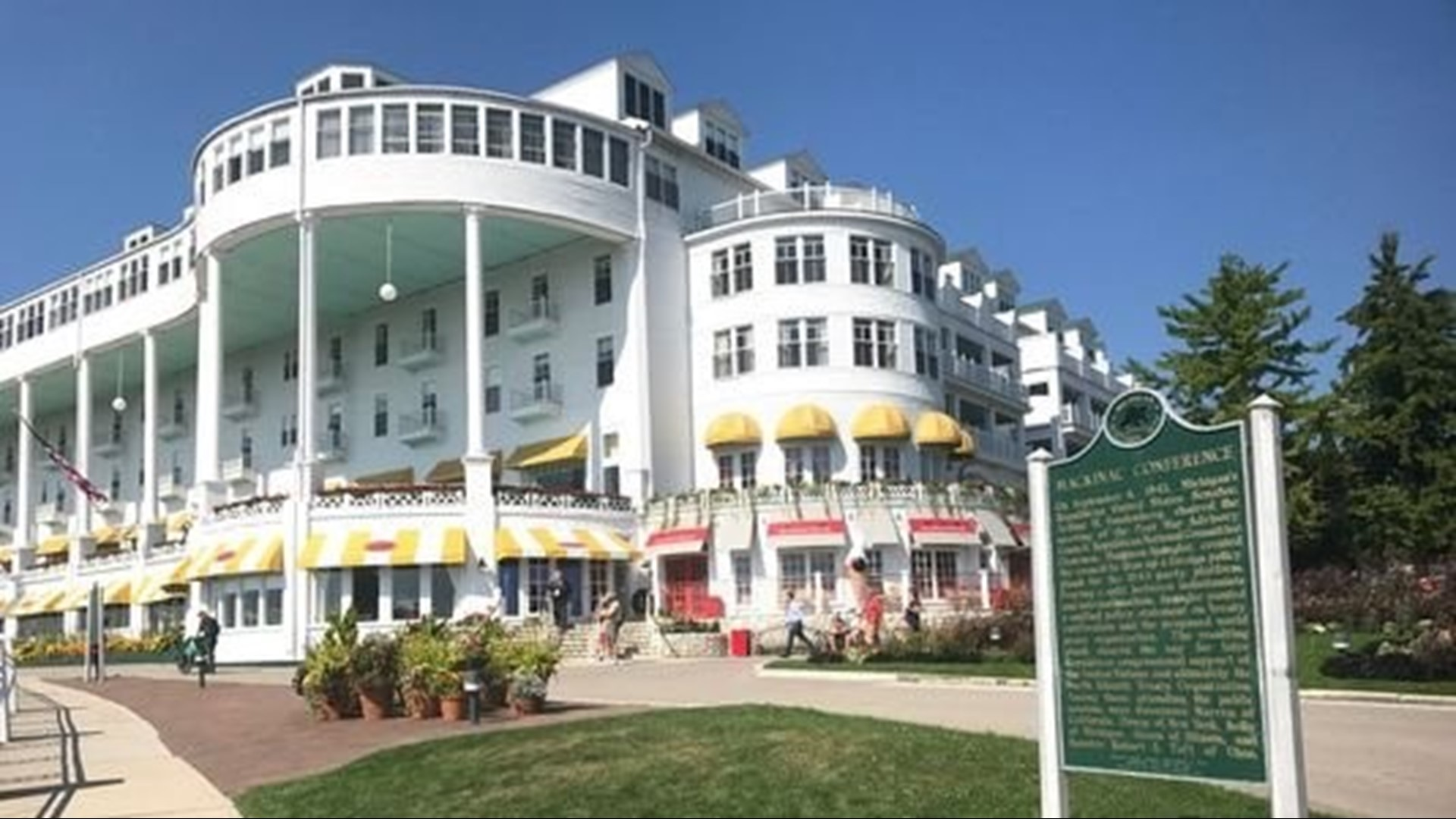 Grand Hotel On Mackinac Island Sold To Private Equity Firm Wkyc Com