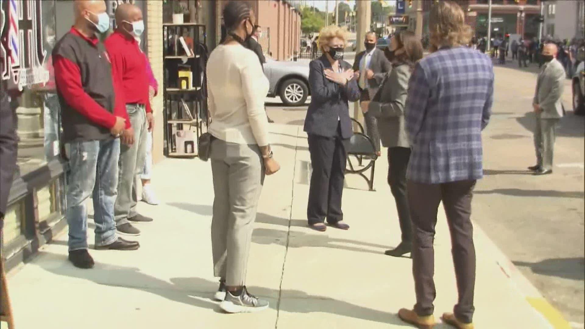 Kamala Harris Visiting Michigan Tuesday Wkyc Com