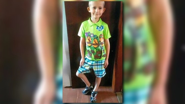 """Xzayvier Buchard-Mease was diagnosed with a rare leg disease when he was 4 years old. It's called """"Flexion Contracture,"""" and it causes the leg to not bend properly. Xzayvier has gone through five surgeries, but none have helped."""